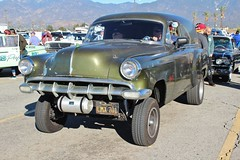 Mooneyes X-Mas Party 2015 (USautos98) Tags: chevrolet 1954 chevy hotrod custom streetrod gasser panelvan