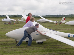 And push.. (Air Frame Photography) Tags: uk england flying aircraft airplanes competition gliding glider gliders ls oxfordshire dg shenington bga regionals avgeek realflying
