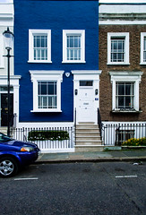 Nottinghill, London (Daniel Tomas Romo Photography) Tags: london nottinghill street blue uk