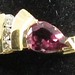 J17. Amethyst and Diamond Ring