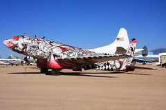 C-117  The Boneyard Project at Pima Air & Space Museum (flyingaxel) Tags: art museum tucson aviation pima douglas airandspace c117 pimaairspacemusuem theboneyardproject douglasr4d8c117dskytrain