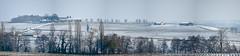 Panorama Saint-Georges Saint-Emilion en Hiver