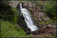 Rhiwargor Falls  - Ghostly Water (Martyn.Smith.) Tags: longexposure lake wales canon landscape eos waterfall rocks flickr image cymru slowshutter cascade waterspout vyrnwy 450d mygearandme