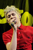 Niall Horan One Direction performs on stage at The Air Canada Centre as support for Big Time Rush. Toronto, Canada