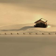 only peace (rinogas) Tags: sunset italy snow hdr corvara valbadia trentinoaltoadige rinogas