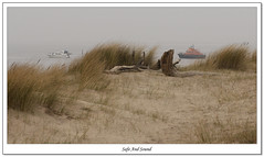 Safe And Sound (roddersdad) Tags: boats march driftwood grasses 2012 spurn spurnpoint riverhumber canonef24105mmf4lisusm humberlifeboat canon1dsmkll wwwimagesbyclivecouk copyrightclivejmaclennan