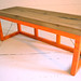 2 person bench Orange-$900.00
