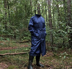 Agu Dark blue men's raincoat (Agu-) Tags: agu raincoat regenmantel regenjas