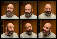 The Many faces of George (todd*) Tags: silly collage fun george faces impromptu lovehim