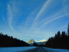 The Road To Castle (johnfuj) Tags: canada alberta banff environment ecology ecosystem environmentalism scenery nature land mountain mount mountains weather snow castle carstairs can