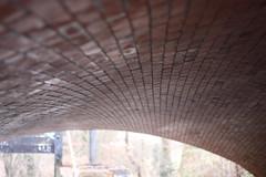 Canal Bridge Brickwork (Simon Wraight) Tags: uk bridge england canal birmingham pattern bricks brickwork redbrick 500d