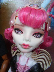 Look who arrived on Valentine's! (AddictedToPlastic) Tags: monster high c tan cupid custom freddy repaint