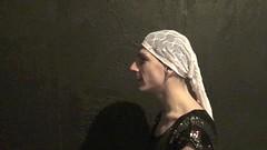 "Still frame from video ""Deconstructed Eidos"" (MATLAKAS) Tags: performance barbedwire artperformance liveart"