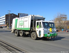 MPH 11 (TheTransitCamera) Tags: trash truck garbage crane minneapolis lorry rubbish ccc chassis refuse mph carrier heil herc