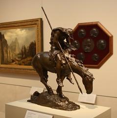 James Earl Fraser (ktmqi) Tags: newyork art bronze painting artist nativeamerican met metropolitanmuseumofart endofthetrail jamesearlfraser