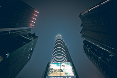 (jim_213) Tags: city sky night buildings hongkong nightview nex3