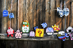 8-bit wonder (Foto di Aringhe) Tags: man color crafts nintendo 8 super mario games bubble nes bit handwork bobble pac