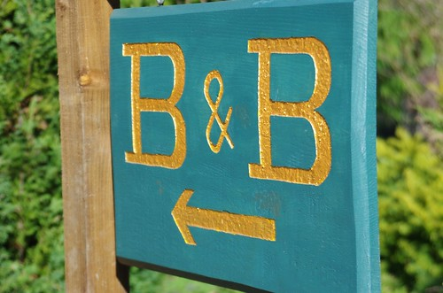 Our B&B sign