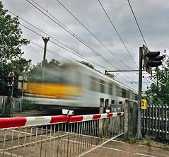 speed  ODT Fast (jimj0will) Tags: motion film speed train movement crossing dynamic fast rail analogue odt alltypesoftransport linesbarrier jimj0will jimjowill