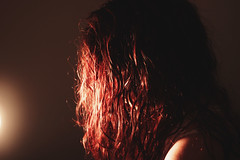 52/366 (220495) Tags: light portrait self canon 50mm 365 redhair day52 366 550d 220495