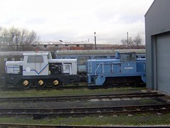 Kemira No1 shunter at Barrow Hill 28th Jan 2007. (Dave Wragg) Tags: kemira barrowhill industrialshunter kemirano1