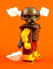 BrickWarriors Boot Wings (MandaBW) Tags: brickwarriors bootwings invaderhelmet muscledcuirass