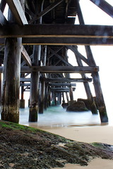 catherine hill bay pier (leighberry) Tags: beach sunrise canon newcastle pier rust rocks nsw catherinehillbay