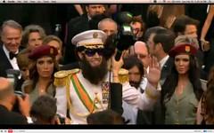 Oscar 2012 - Sacha Baron Cohen - The Dictator - pix 03