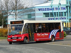 West Coast Motors - S600 WCM (MSE062) Tags: school west bus john coast glasgow motors solo single morrow decker citybus wcm clydebank s600 optare yoker midibus s600wcm