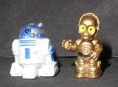 star wars mini dudes (R2-D2 & C-3PO) (mikaplexus) Tags: wild favorite art film comics movie toy toys star robot starwars pod comic little films space awesome small alien cartoon mini aliens lucas collection robots wicked collections tiny r2d2 figure lil movies wars fav minifigs outerspace limited favs figures cartoons rare limitededition collect collectibles pods droid collecting c3po georgelucas droids arttoys goodguys itsybitsy minifigures ireallylike limed tinyfigures fighterpods fighterpod