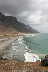 Clouds roll in (JamesBorrell) Tags: mountains expedition nature desert wildlife middleeast conservation arabia fieldwork oman emptyquarter dhofar bses arabianleopard