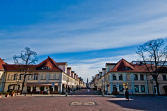 Potsdam old town (Umbreen Hafeez) Tags: life city blue sky berlin architecture buildings shopping germany skies german potsdam brandenburg steet kaisers spiritofphotography flickrtravelaward