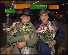 The Everly Brothers in Amsterdam (Schiphol Airport) (martin alberts1) Tags: music rock duo country roll ebi everlybrothers albertlee countryrock byebyelove martinalberts ikeeverly doneverly phileverly archiebleyer boudleauxandfelicebryant margareteverly everlybrothersinternational vigilantphotographersunite