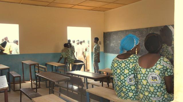 Dans une salle de classe      © EC/ECHO/CYPRIEN Fabre
