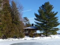 "P1020797 (Toats Master) Tags: winter snow ontario ski ice water cottage severn crosscountryski lake"" lakes"" winter2010 waterway"" ""trent ""balsam ""kawartha"