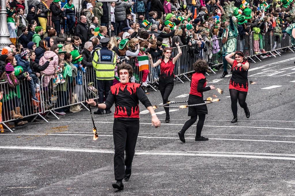 2012 Patrick's Day Parade In Dublin