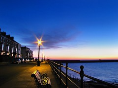 Dawn star. (paul downing) Tags: longexposure sunrise canon headland pdp hartlepool pd1001 sx10is pauldowning