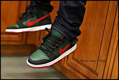 Today. WDYWT 3-23-12 (Never Wear Them) Tags: b red white black green forest shoes skateboarding you s nike wear gucci skateboard what denim did today nsb sb dunk resn wdywt sbgucci nikegucci resndunk