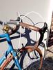 Bianchi Stahlrenner (Zeitenwende) Tags: columbus bicycle azure aelle bici fahrrad brooks bianchi roadbike campagnolo rennrad fizik kmc racingbicycle diacompe racefiets 3ttt rennvelo azurblau gillesberthoud ofmega brooksswift veloorange mkssylvan velodecourse schwalbedurano ral5009 modolocorsa