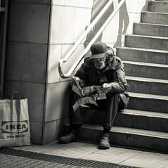 Plaça Espanya (Julien Lagarde) Tags: barcelona blackandwhite bw españa blancoynegro geotagged spain noiretblanc bcn catalonia nb catalunya espagne esp barcellona cataluña barcelone espanya cataluna catalogne plaçaespanya geo:lat=4137474756 geo:lon=214898586