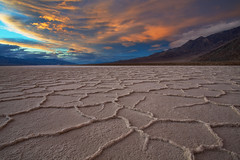 The Apocalypse - Badwater - Death Valley National Park (D Breezy - davidthompsonphotography.com) Tags: storm clouds unitedstates earth textures deathvalley cracks drama saltflats badwater deathvalleynationalpark californiainyocounty