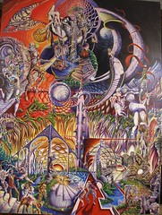 Gates of the Dream_36x48_c2010sm (LouisBraquet) Tags: original art pen ink sketch drawing originalart surrealism dream surreal fantasy surrealist dreamlike mythology unconscious penandink jungian freudian hallucinogenic psychoanalysis fantasticrealism subconscious psychoanalytical mythologicalart modernsurrealism modernsurrealist unconsciousimagery