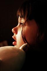 Ulla & Tita (ChanTejedor) Tags: love argentina girl kid buenosaires perfil amor niña teddybear ulla tita claroscuro berazategui chantejedor