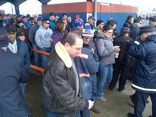 Fans Ride LIRR to Mets' 2014 Home Opener