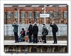 The Doncaster 9 (Fermat48) Tags: yorkshire platform railwaystation trainstation doncaster trainspotters