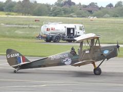G-AXAN Tiger Moth DH82 (Aircaft @ Gloucestershire Airport By James) Tags: james airport tiger moth gloucestershire lloyds dh82 egbj gaxan