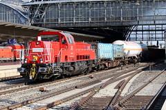 DB Cargo 265 018-2 Mllzug, Bremen Hbf (michaelgoll777) Tags: db gravita br265