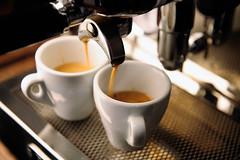 How to Grind Coffee Beans Perfectly (azlbuy) Tags: food brown white macro cup coffee closeup break drink coffeecup machine espresso foodanddrink pouring filling espressomachine hotdrink espressocup