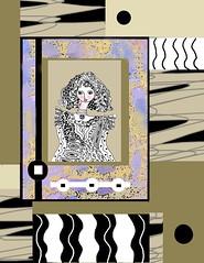 untitled (ladybumblebee) Tags: art mixedmedia collageart