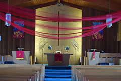We Celebrate Pentecost (MTSOfan) Tags: red holiday church celebration sanctuary pentecost holyspirit acts2